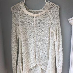Light-Weight Cream Sweater